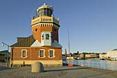 Building in the harbour (Norra hamnen) Helsingborg, Skane, Sweden