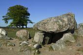 A grave from the Stone Age, osterlen, Skane, Sweden