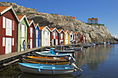 Boats and huts