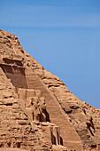 Temple of Rameses II., Abu Simbel, Egypt, Africa