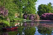 Landscape garden Breidings Garden, Soltau, Lower Saxony, Germany