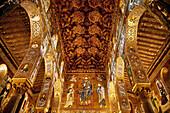 Cappella Palatina, Palazzo Reale, Palermo, Sicily, Italy