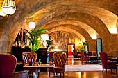 Bar, Hotel Villa Igiea, Palermo, Sicily, Italy