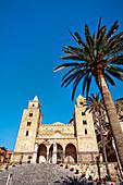 Cathedral, Cefalú, Palermo, Sicily, Italy