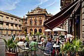 Teatro Bellini, Piazza Bellini, Catania, Sicily, Italy, Theatro Bellini, Bellini