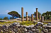 Archeological park, Tindari, Sicily, Italy