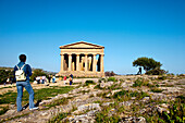 Concordia Temple, Valley of temples, Agrigento, Sicily, Italy
