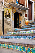 Pottery stairs, Caltegirone, Sicily, Italy