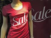 Anzeigen, Ausverkauf, Displays, Farbe, Mannequin, Modepuppe, Rot, Symbol, Symbole, Tageszeit, Verkauf, Verkäufe, L35-925476, agefotostock