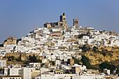 Arcos de la Frontera, White Towns of Andalusia. Cadiz province, Andalucia, Spain