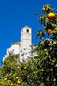 Zahara de la Sierra. White Towns of Andalusia, Cadiz province, Andalusia, Spain