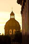 Metropolitan Cathedral Catedral Metropolitana, Plaza de Armas square in the historic Center of Guadalajara, Jalisco, Mexico