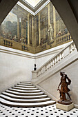 Escalier de Luynes  Stair of Luynes) in the Carnavalet Museum in Le Marais, Paris. France