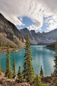 Moraine Lake and the Valley of the Ten Peaks, Banff National Park, Rocky Mountains, Alberta, Canada