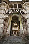 Bundi Palace, Bundi, Rajasthan, India