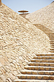 Stairs made of stone, The Oberoi Sahl Hasheesh, Egypt