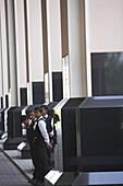 Doormen of Kempinski Hotel Mall of the Emirates, Dubai, United Arab Emirates