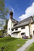 Pilgrimage church Mariä Himmelfahrt, Birkenstein, Fischbachau, Upper Bavaria, Germany