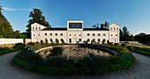 Orangerie im Schlosspark Putbus, Rügen, Mecklenburg-Vorpommern, Deutschland