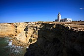 Usa, Caribbean, Puerto Rico, West Coast, Punta Jaguey, Faro de Cabo Rojo Red Cape Lighthouse