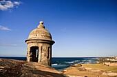 Usa, Caribbean, Puerto Rico, San Juan, Old Town, Fuerte San Cristobal Unesco Site