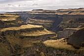 Eastern Washington Water Eroded landscape