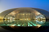 National Centre for the Performing Arts Beiijing China also known as ´the egg´ due to its futuristic shape