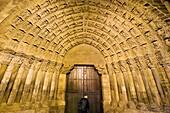 Puerta del Juicio Door of the Judgement  Santa María de Tudela cathedral  Tudela, Navarre, Spain