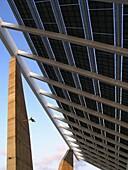 Photovoltaic pergola, Forum 2004  Barcelona  Spain