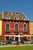 Teatrum hotel and restaurant in central Györ Hungary EU