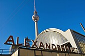 Alexanderplatz square east Berlin Germany EU