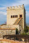Ancient Butrint museum exterior Albania Europe