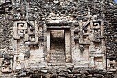 Structure XX  Chicanná Maya Ruins archaeology site, Campeche Mexico