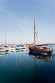 Marina, Kuhlungsborn, Bay of Mecklenburg, Mecklenburg-Vorpommern, Germany