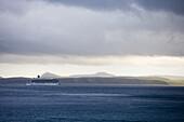Cruiseship Costa Luminosa, near North Cape, Finnmark, Norway, Europe