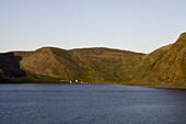 Idyllic Coastal Living, near North Cape, Finnmark, Norway, Europe