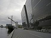 Anbau der Dänischen Königlichen Bibliothek, Den Sorte Diamant, Der schwarzer Diamant, Architektenbüro Schmidt, Hammer und Lassen, Insel Slotsholme, Dänemark