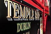Irish pub, Temple Bar area, Dublin, County Dublin, Ireland