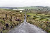 Road, Valentia Island, Iveragh Peninsula, Ring of Kerry, County Kerry, Ireland