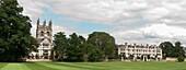 Merton College Oxford from the Broadwalk