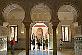Royal Alcazar Royal bedroom  Seville, Andalusia, Spain
