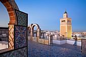 Tunisia: City of Tunis  Ez- Zitouna Mosque Great Mosque from a terrace of the medina