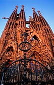 Barcelona: La Sagrada Familia  Nativity façade