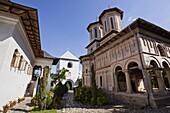 Monastery Manastirea dintr-un Lemn, a garden monastery in Wallachia, founded around 1660  Europe, Eastern Europe, romania, September 2009