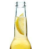 Lemon in a Beer Bottle