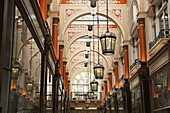 The Royal Arcade, Old Bond Street, London, England, UK