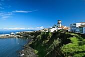 The town of Rabo de Peixe  Sao Miguel island, Azores, Portugal