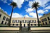 The presidential palace of the Government of the Autonomous Region of the Azores, in Ponta Delgada  Azores islands, Portugal