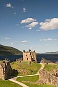 Castle Urquhart, Loch Ness, Scotland, UK