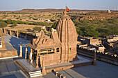 A temple within the Sachiya Mata Temple complex, Osian, near Jodhpur, Rajasthan, India